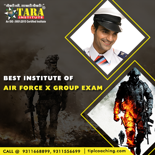 Air Force X Group Coaching in Delhi