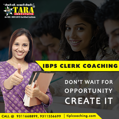 IPBS Clerk Coaching in Delhi