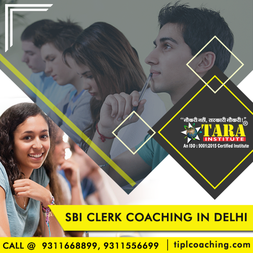 SBI Clerk Coaching Classes in South Ex Delhi